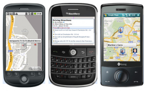 Google Maps para BlackBerry